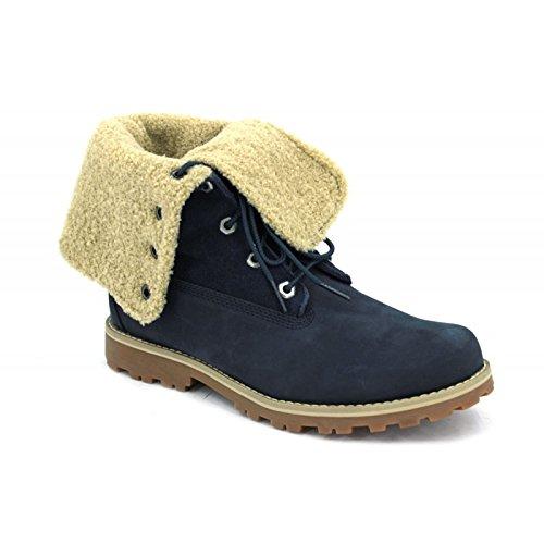 Timberland Unisex-Erwachsene Shearling 6 Inch Boot 1690a Klassische Stiefel, Blau (Navy), 40 EU