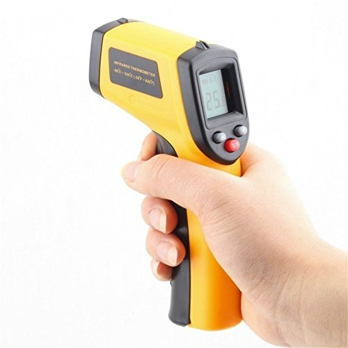 Preisvergleich Produktbild GS LCD Laser Digital IR Infrarot Thermometer Handheld Temperatur Messgerät Gun-50~ 380°C Thermometer