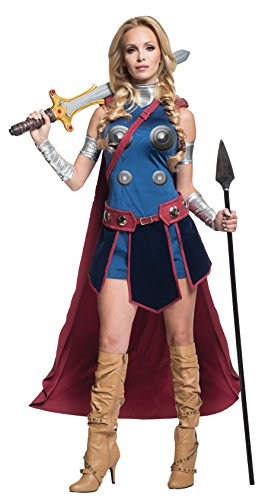 Secret Wishes Deluxe Valkyrie Fancy dress costume (Kostüme Halloween Valkyrie)