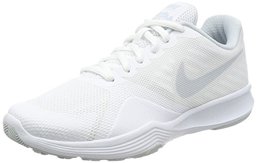 Nike Damen City Trainer Laufschuhe, Elfenbein (White/Pure Platinum), 38.5 EU