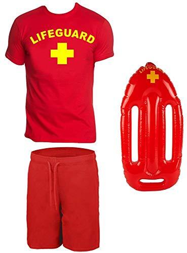 Coole Kostüme - Coole-Fun-T-Shirts Lifeguard Schwimmboje Kostüm Rettungsschwimmer