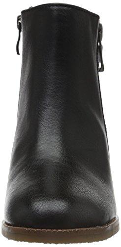 Marco Tozzi Damen 25405 Kurzschaft Stiefel Schwarz (Black Ant.Comb 096)