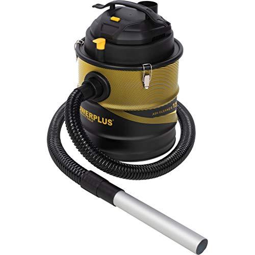 Powerplus 10204 Aspirador de Cenizas, 1500 W, 230 V, Negro