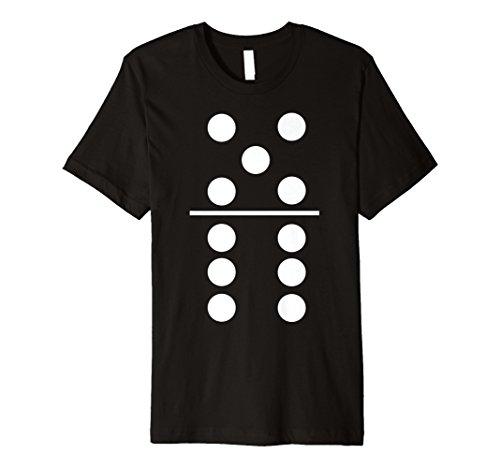 Dominosteine Spiel 5–6Gruppe Kostüm Halloween T-Shirts
