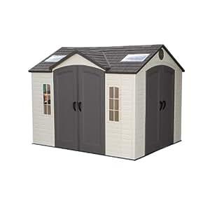 lifetime kunststoffger tehaus garten stratos bxt 305x244cm ger tehaus kunststoff gartenhaus. Black Bedroom Furniture Sets. Home Design Ideas