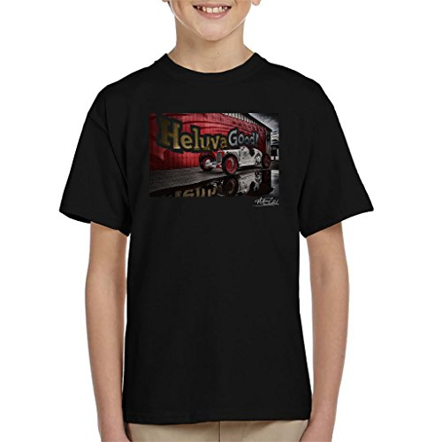 Martyn Goddard Official Photography - HCS Special Distressed Effect Indy Racer Kid's T-Shirt