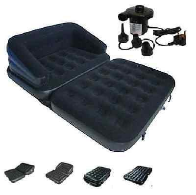 Generic E So Pumpe ounger mattr Matratze Luftmatratze S eine neue 5-in1aufblasbare Liege-Sofa 5in1Inflata Couch Liege nflat
