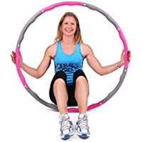 ResultSport The Orignal WAVE Weighted Fitness Exercise Hula Hoop (1.2kg - 1.5kg - 2.0kg)