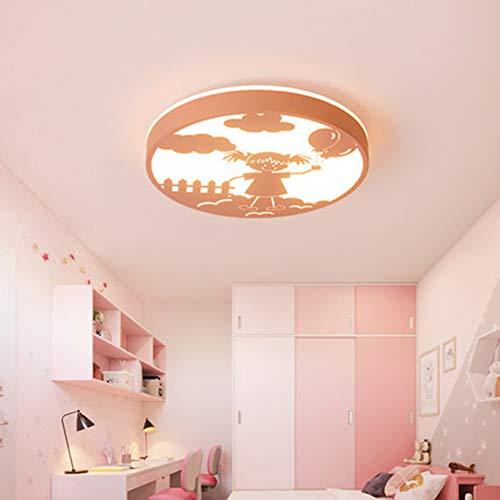 SUNA 36W LED Rond Classique Plafonnier Creative Moderne Plafonnier Lampe De Chambre D'enfant 45cm [classe énergétique A ++]