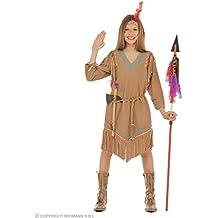 159a172a35bf6 WIDMANN Widman - Disfraz de indio del oeste para niña