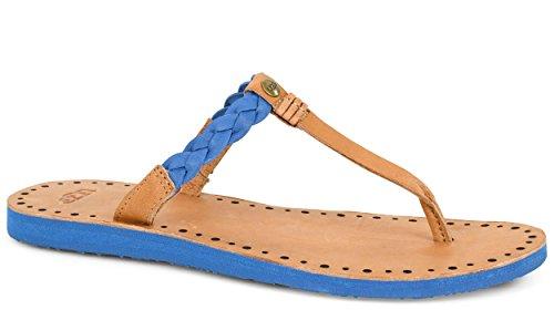 Ugg Australia Bria Femmes Cuir Sandales Marine Blue