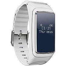 LL-Bluetooth Smart Band Talkband Monitor de ritmo cardíaco Smart Watch Sport Health Smart Pulsera
