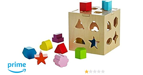 Chad Valley PlaySmart Wooden Shape Sorter by Unknown