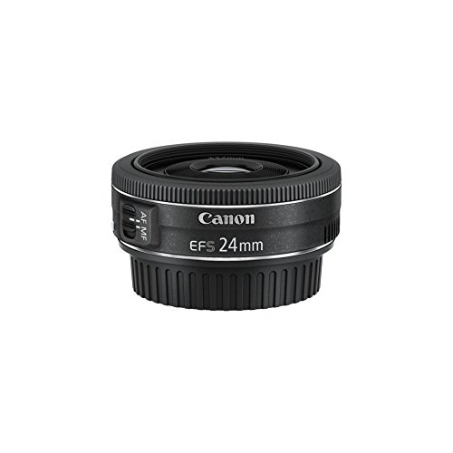 Oferta de Canon Pancake EF-S 24 mm f/2.8 STM - Objetivo para Canon, distancia focal 24 mm, apertura f/2.8, negro