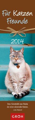 Für Katzenfreunde, Lesezeichenkalender 2014