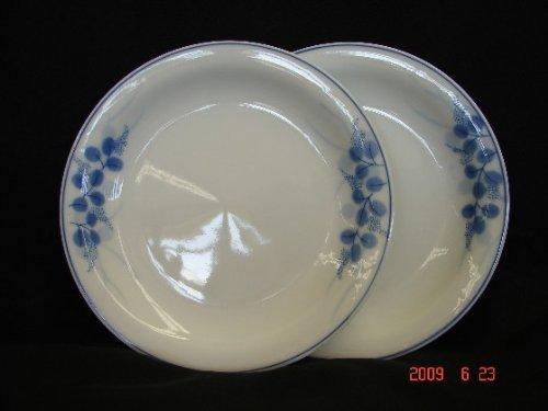 Import Von Mode-accessoires (Feng Shui Import weiß Teller mit Blau Blume Bild)