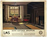 Dove Cottage, Grasmere LMS - Art Print - 40x50cm