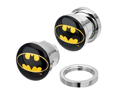 Batman   Nessuna incisione  acciaio inossidabile      FASHIONEARRING