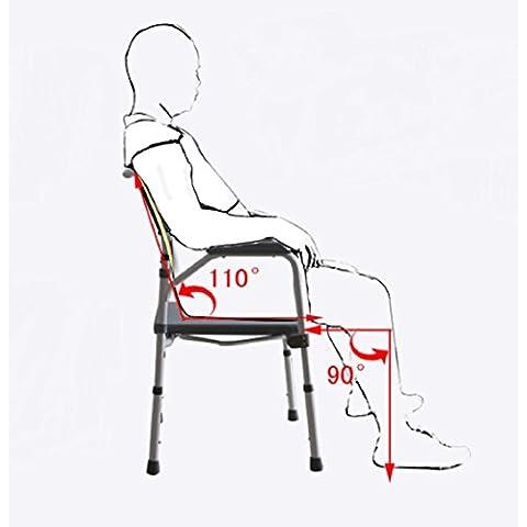 New day-donna incinta Generico seduta sulla sedia sedile del water anziani sedia sgabello seduta sgabello toilette movimento sedile del water sedia pieghevole WC , 1