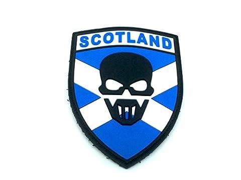 Schottland Recon PVC Patch Klett Emblem Abzeichen