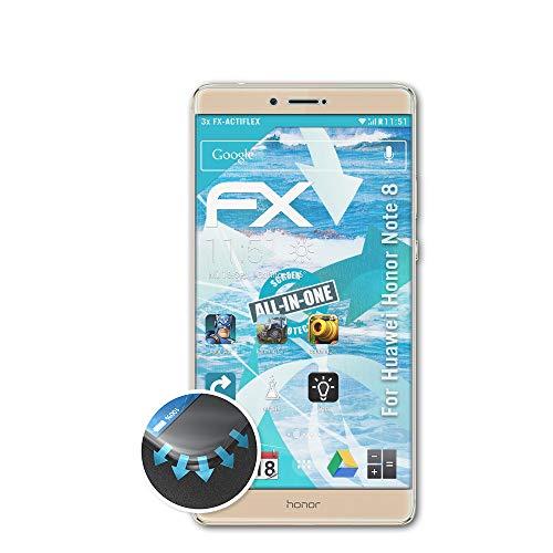 Atfolix 3x Folie Für Huawei Honor Note 10 Schutzfolie Fx-actiflex Displayschutzfolien Handy-zubehör