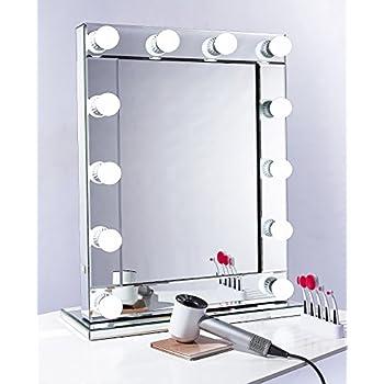 Professional Hollywood Makeup Mirror With Led Lights - Mugeek Vidalondon