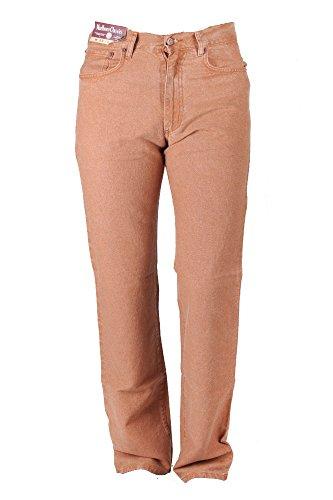 marlboro-classics-jeans-30-34-brown-cotton-linen-fabric