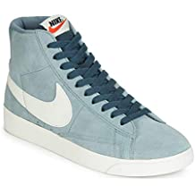 watch 3aa78 a0a6c Nike W Blazer Mid Vintage Suede, Chaussures de Basketball Femme