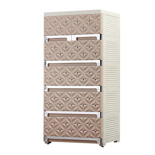 Lagerturm Speicherfächer, mehrschichtiger Vollenden-Kabinett, Plastik, das es große Kleinigkeiten-Speicher-Kasten-Hallen-Schließfach, Kinderzimmer-Plastikgarderobe-Badezimmer-Fach verschieben kann -