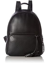 edc by Esprit - 077ca1o002, Bolsos mochila Mujer, Schwarz (Black), 12x30,5x26 cm (W x H D)