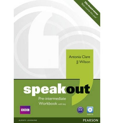 [(Speakout Pre Intermediate Workbook with Key and Audio CD Pack)] [ By (author) Antonia Clare, By (author) J. J. Wilson ] [March, 2011]