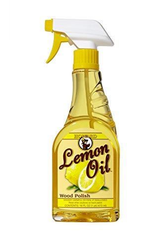 Polierte Holz-finish (Howard lm0016473ml/16oz Lemon Oil Holz Polish Trigger Spray)