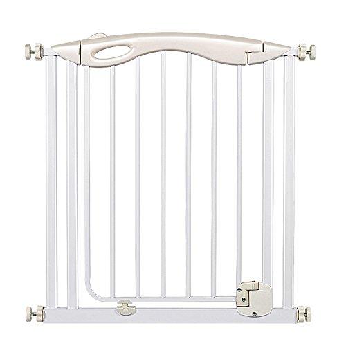 Türschutzgitter Auto-naher Druck-Berg-Baby-Tor für Treppen Flur-Türen Metallweiß-Haustier-Tür für Hund Auto, Höhe 80cm (größe : 98-105cm) -