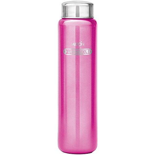 Milton Aqua 1000 Stainless Steel Water Bottle, 930 ml, Pink