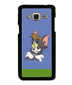 printtech Funny Tom Designer Back Case Cover for Samsung Galaxy J3 Pro