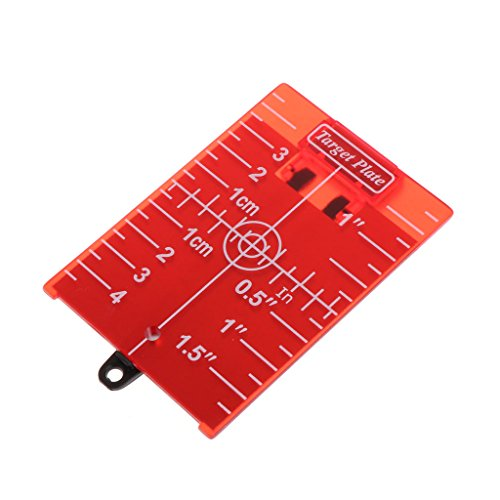 Qiman Magnetische rote Zieltafel für Rotationskreuzlinienlaser-Entfernungsmesser