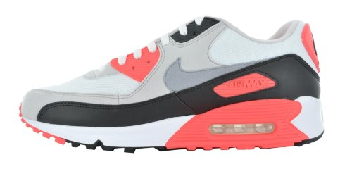 Chaussures Nike - Air max 90 White / Cement Grey-Infrared-Black