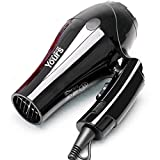 Footprintes Extrem leise elektrische Haartrockner-Einstellung der Leistung-1000W faltbare Reise-Salon-Gebrauch-Haartrockner-Fön-Schlag-Trockner
