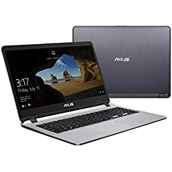 "Asus R510UA-BQ673T PC portable 15"" Gris (Intel Core i3, 6 Go de RAM, 1 to + SSD 128 Go, Windows 10) Clavier AZERTY Français"