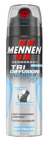 Mennen Déodorant Atomiseur Tri-Diffusion Intraçable 72H 200 ml