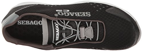 Sebago Cyphon Sea Sport, Black / Grey Textile B510294 Women Black / Grey