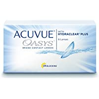Acuve Oasys for Astigmatism 2-Wochenlinsen weich, 6 Stück / BC 8.6 mm / DIA 14.5 / CYL -2.25 / Achse 40 / -1.5 Dioptrien