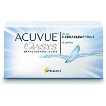 Acuvue Oasys  - Lentes de contacto esféricas quincenales (R 8.4 / D 14 / -5.25 Diop), Pack de 12 uds.