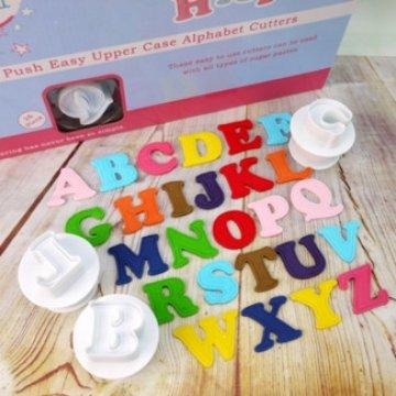 Appui Facile Emporte Pièce - Majuscules Alphabet Set 26