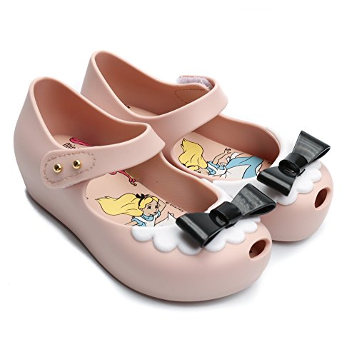 Melissa Shoes Mini Alice Ultragirl Nude Bow