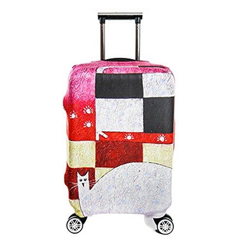 Viaggio sulla strada Deposito coperchio di protezione in valigia coprire caso trolley da viaggio bagagli polvere copertura per 18 a 32 pollici Xagoo (S(18-20 pollici))