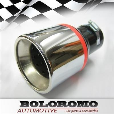 Universal Car Exhaust Tip Muffler Trim Pipe (Scarico Universale Kit)