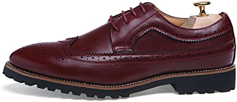 Nuevos Zapatos De Cuero Tallados De Verano Zapatos De Cordones Ocasionales De Inglaterra Retro Zapatos De Los
