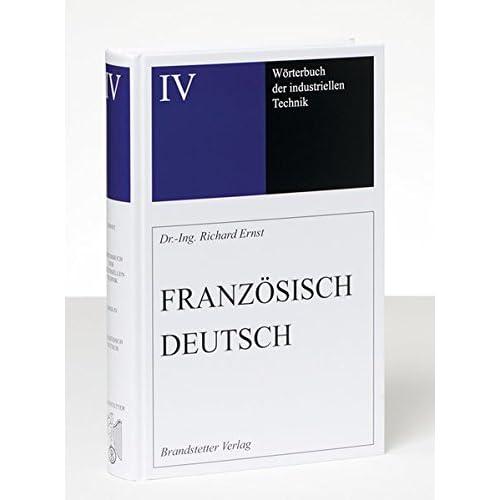 Dictionnaire General de la Technique Industrielle Français-Allemand, 2015