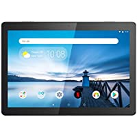 "Lenovo TAB M10 Tablet, Display 10.1"" HD, Processore Qualcomm Snapdragon 429, 32GB espandibili fino a 128GB, RAM 2GB, WiFi, Android Oreo, Slate Black"